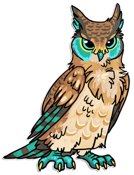 Owl design by griffsnuff