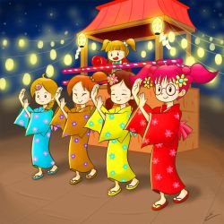 The Bon Odori by emiliosan