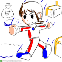 Alex Kidd by mushisan
