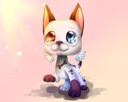 LPS dog by Helen-Brush