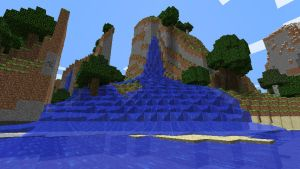 Minecraft Epic Waterfall by Jhumperdink