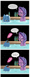Glim Glam and Pals 001 - Two mares in a tub. by Raph13th