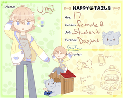 Happy Tails App- Umi by uumi-chan