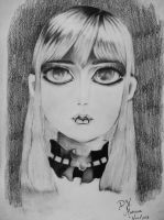 Gothic Girl by DVMarissa
