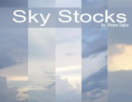 Sky Stock by laceratedwrists
