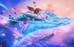 SPIRITED AWAY! : YouTUbe by rossdraws