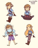 BOTW Stickers by Chromel