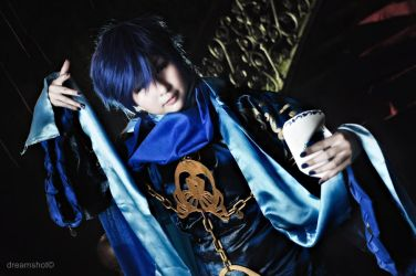 fantasy quest 2  kaito from synchronicity vocaloid by dreamshot08