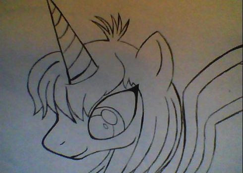 Alicorn oc. by kittenluver101