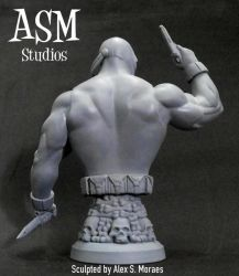 CROSSBONES MINI BUST 04 by ASM-studio