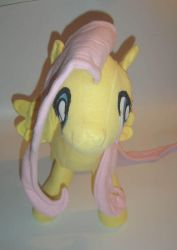 Fluttershy Plushie - View 3 by AmethystArmor