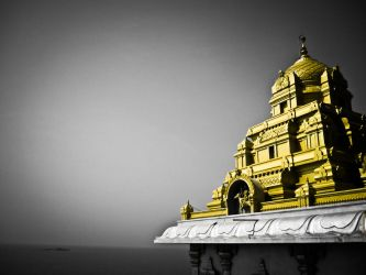 Golden Temple by rjwarrier