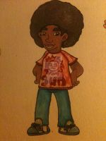 Afro Boy by Quarantine1977