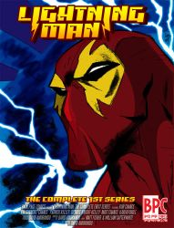 Lightning Man scrapped cover by TheBackPageComics