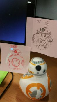 BB8 doodle by Darklight-phoenix