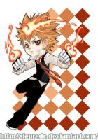 Kchibi - Tsuna by siguredo