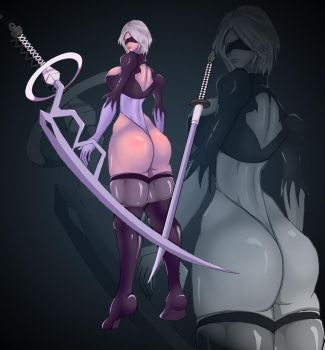 2B Nier Automata by sinus05