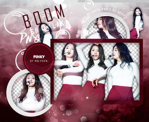 +Pack Png I.O.I|Pinky by Pohminit