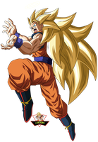 Son Goku Ssj3 by lucario-strike