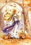 The Autumn elf by delfee
