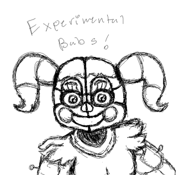 Experimental Baby by RandomFNAFDeves