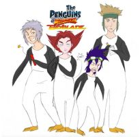 The Penguins of Beyblade by RavenAnime