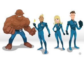 Fantastic Four by GaboMelo