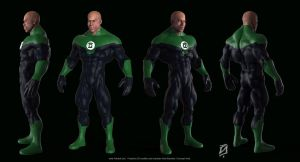 Green-Lantern-Toon by patokali