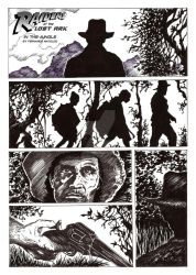 Raiders of The Lost Ark, in the jungle, Page 1 by Fermatfsm