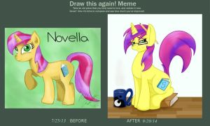 Before and After Novella by bookxworm89