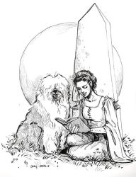 Sarah And Merlin by janey-jane