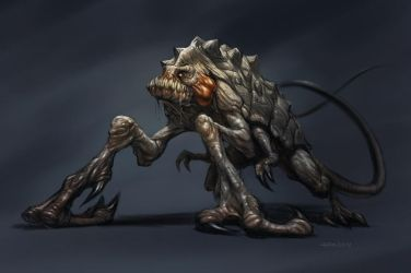 Creature concept 1 by PReilly