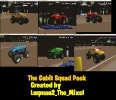 MTM2: The Cubit Squad Pack by Luqmandeviantart2000