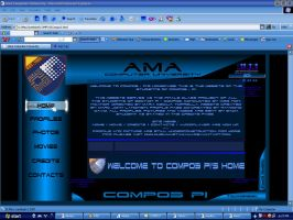 Compo3 - P1 Website Screenie by muzikmastamaku