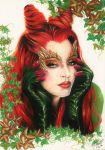 Uma Thurman as Poison Ivy by BrunaCeleghim