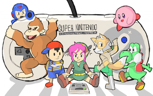 SNES CLASSIC MINI: Characters by RamyunKing