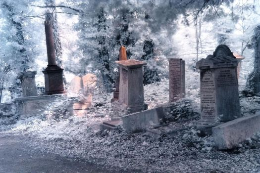 Ethereal Cemetery by Helgajas