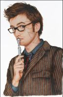 Doctor Who - David Tennant by OzVisual