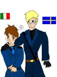 Sweden And Italy by cargirl9