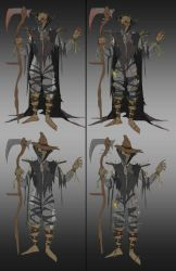 Scarecrow Redesign by darknight7