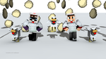 Chicken Dance (feat. muyskerm and LordMinion777) by MarioMinecraftMix