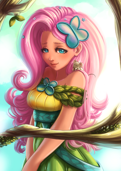 Fluttershy by Namele7