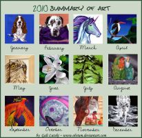 2010 Art Summary by Olvium