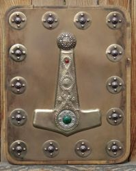 Hammer of Thor - Wall Plaque by Vegvisir