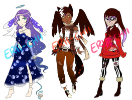 Mixed Adopts Batch *CLOSED* by Erii-Adopt