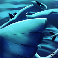 Pokemon Challenge - Day 2 - Lugia by Xaneas