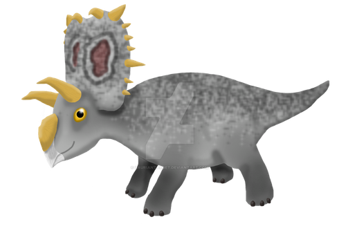 Xenoceratops by SaurianTarget