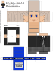 Paper Pezzy- The 1st Doctor by CyberDrone