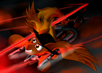 Close Call (Calamity) by RaptorPWN3