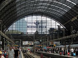 Frankfurt Main Station, the look inside (new edit) by UdoChristmann